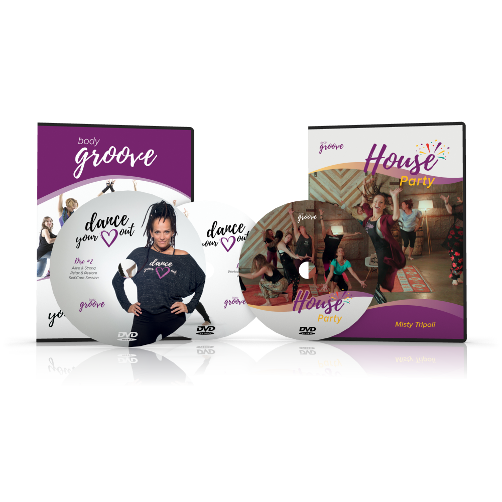Dance Your Heart Out and House Party DVD Set