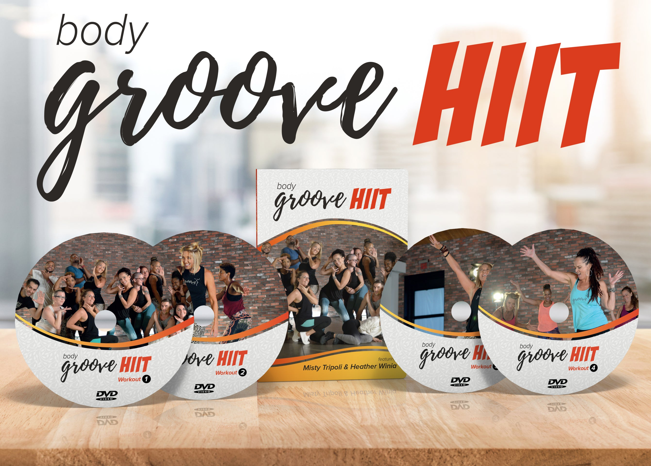 Body Groove HIIT DVD Collection