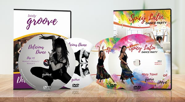 Delicious Dance and Spicy Latin Dance Party Bundle