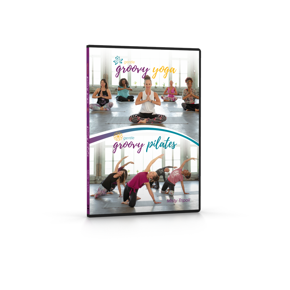 Gentle Groovy Yoga and Gentle Groovy Pilates DVDs (Special Savings)