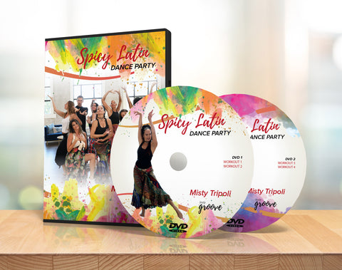 Spicy Latin Dance Party DVD Collection