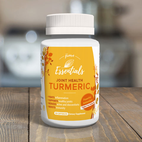 Body Groove Essentials Joint Health Turmeric - 1 bottle - Special Offer