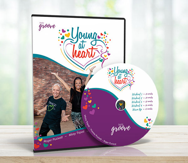 Young At Heart Workout DVD + Streaming Video