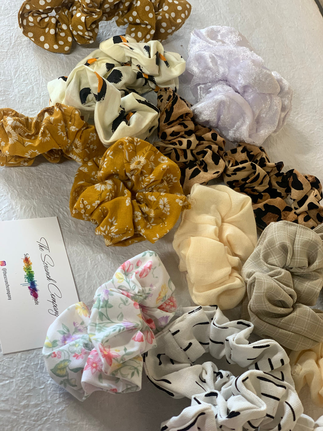Local Handmade Scrunchie - The Scrunch company