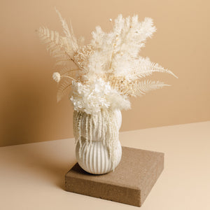 Dried Floral Arrangement (Medium Vessel)