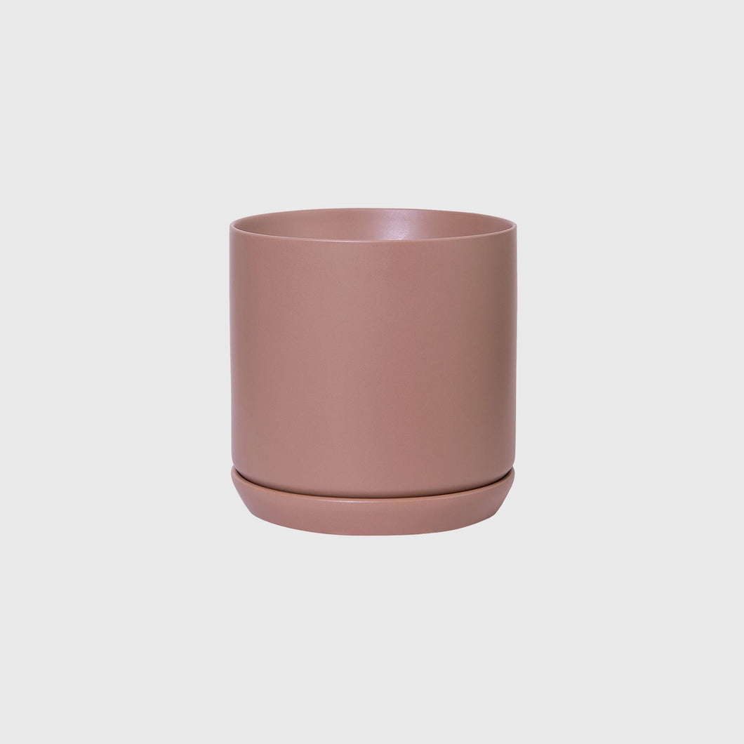 Dusty Rose Oslo planter Large (160mm Pot size)