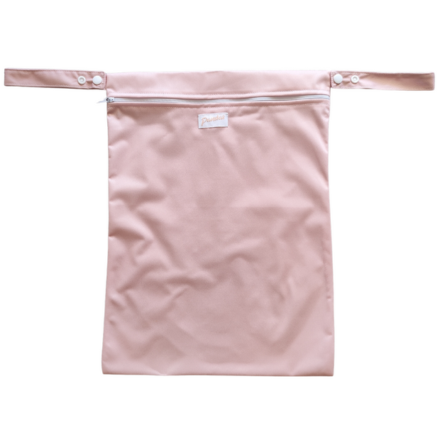 Pandas by Luvme ECO Reusable Wet Dry Bags Dark Blush - LittleShoppers