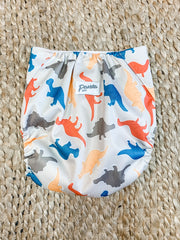 Pandas by Luvme ECO Reusable Swim Nappies DINO - LittleShoppers