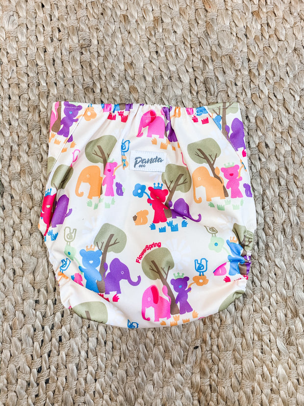 Panda Eco by Luvme Reusable Swim Nappy TEDDY - LittleShoppers