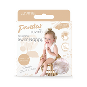 Pandas by Luvme ECO Reusable Swim Nappies - FLORA - LittleShoppers