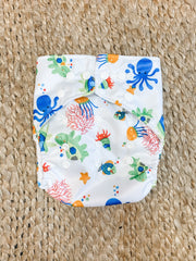 Pandas by Luvme ECO Reusable Swim Nappies TURTLE - LittleShoppers