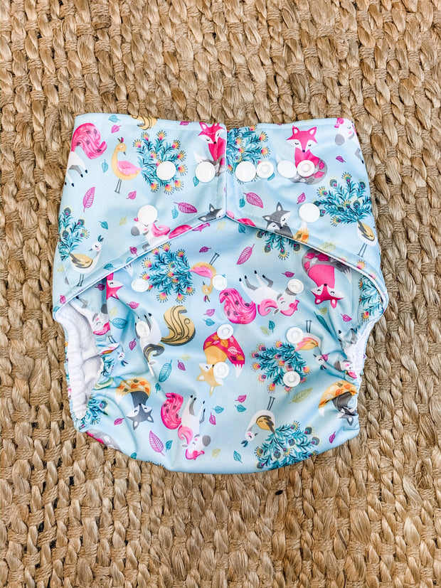 Panda Eco by Luvme Reusable Swim Nappy UNICORN - LittleShoppers