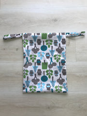 Pandas by Luvme ECO Reusable Wet Dry Bags OWL