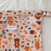 Pandas by Luvme ECO Reusable Wet Dry Bags FOX - LittleShoppers