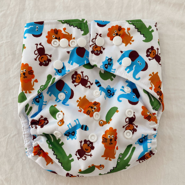 Pandas by Luvme ECO Reusable Swim Nappies MONKEY - LittleShoppers