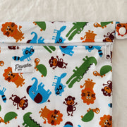 Pandas by Luvme ECO Reusable Wet Dry Bags ZOO - LittleShoppers