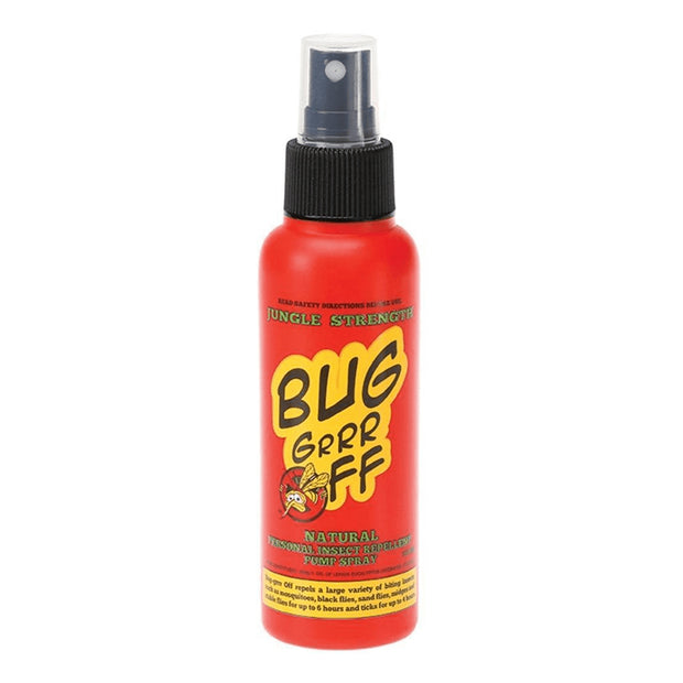 Bug-grrr Off Natural Insect Repellent - Jungle Strength Formula Spray - LittleShoppers