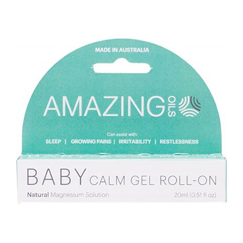 Amazing Oils Magnesium Baby Calm Gel Roll-On 20ml - LittleShoppers