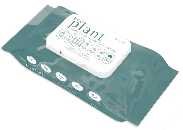 ECO Plant Biodegradable Wipes - MADE IN NZ - LittleShoppers