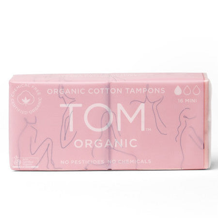 TOM ORGANIC Tampons- Mini - LittleShoppers