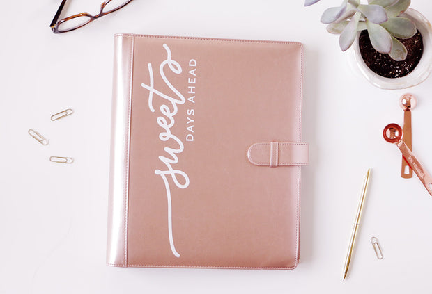 Rose Gold Planner + Consult Notepads & Stickers