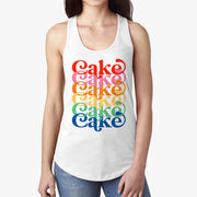 """Rainbow Layer Cake"" Tank Top"
