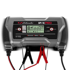 SPI PRO 16 12V-16A / 24V-8A Vehicle Battery Charger, Lithium Compatible