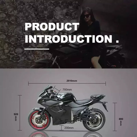 Electric motorcycle banner image 1