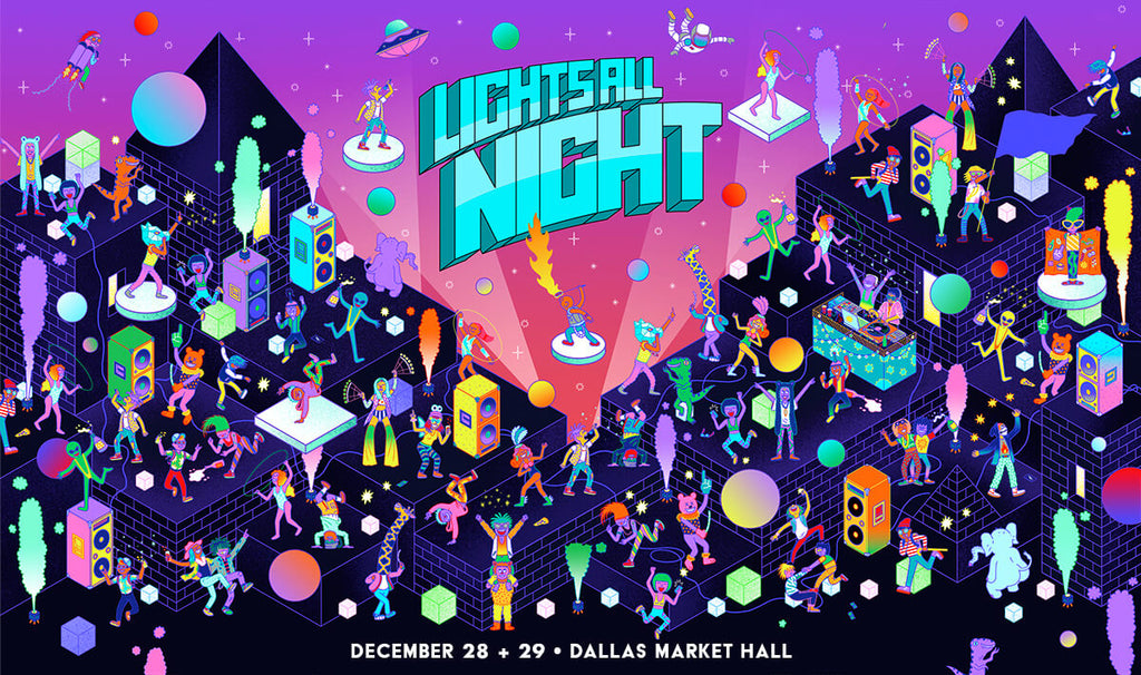 Sweet Tooth Hotel collaboration with Lights All Night