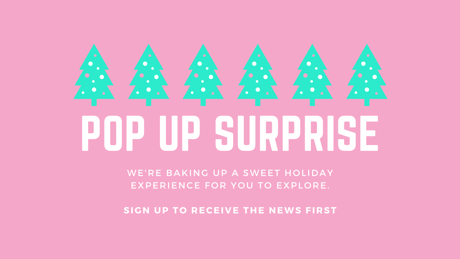 Holiday Pop Up Surprise