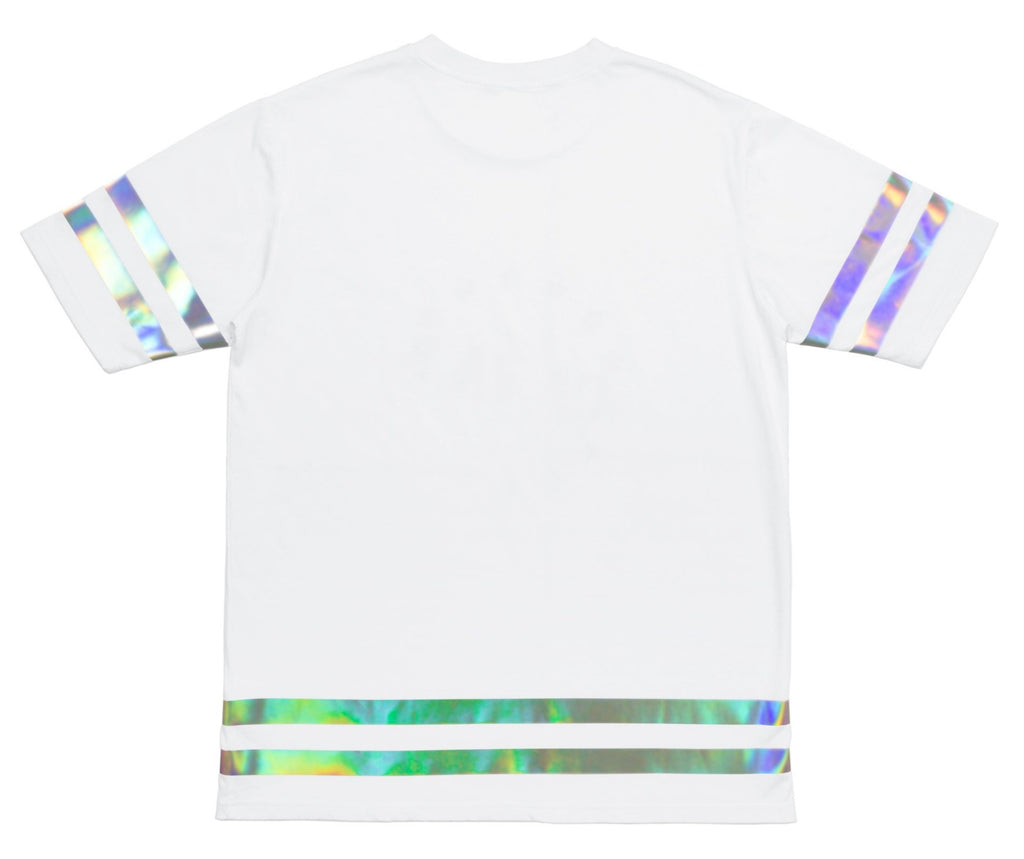 Hologram Reflective Tape T Shirt
