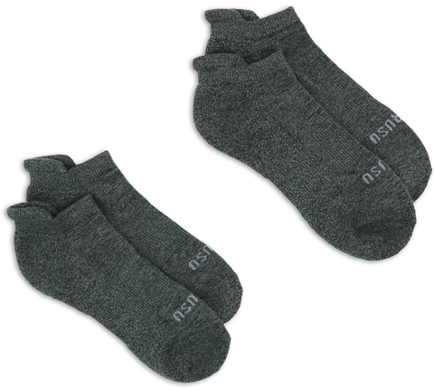 Low-Cut Sock (Charcoal)