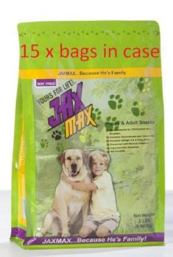 (pre-orders) CASE of JaxMax Snacks - 15 x 2 pound bag