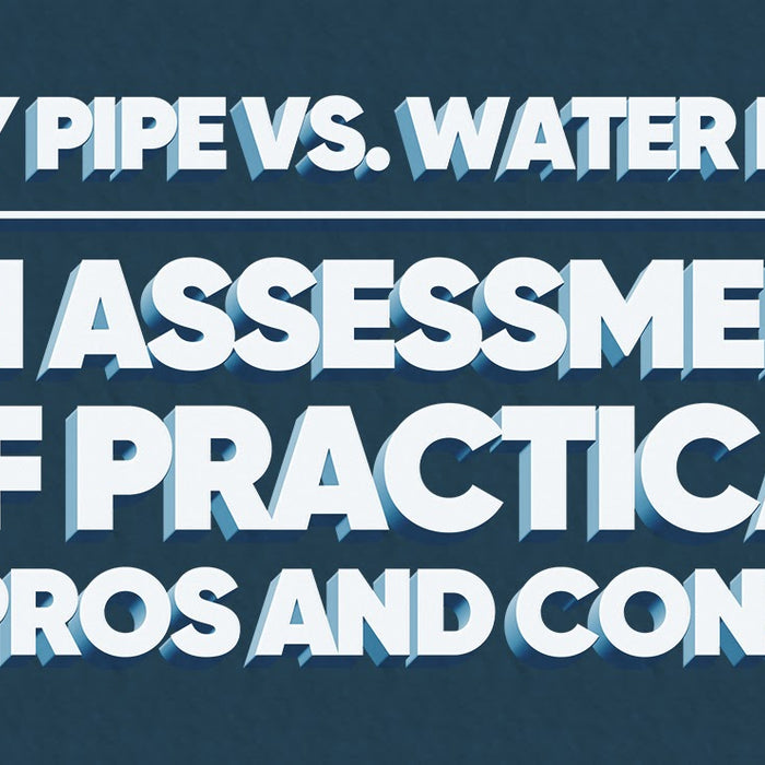 Dry Pipe vs. Water Pipe | An Assessment of Practical Pros and Cons