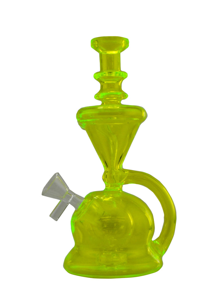 8 Inch Recycle UV Reactive Water Pipe - SmokeZone 420