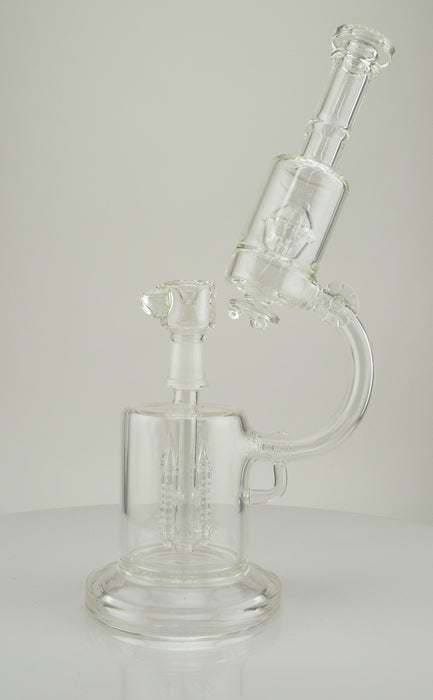 "14"" Microscope Double Chamber Water Pipe - SmokeZone 420"