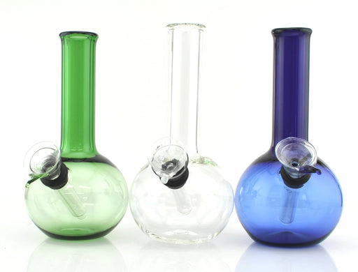 "6"" Ball Shape Slide & Stem Water Pipe - SmokeZone 420"