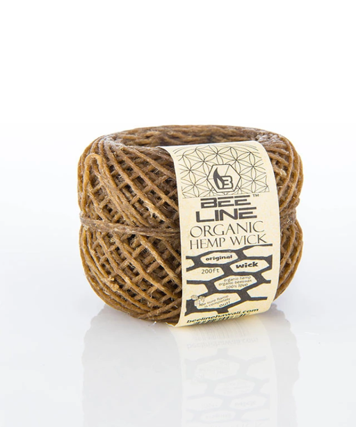 Bee Line Organic Hemp Wick Roll 200ft - SmokeZone 420