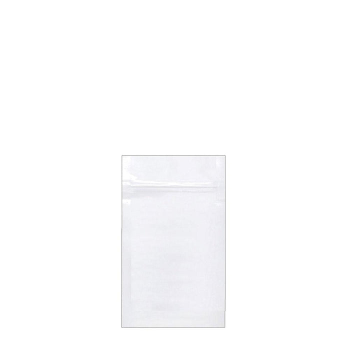 1 Gram Vista White Mylar Bag (Pack of 50) - SmokeZone 420