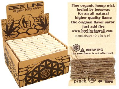 Bee Line Organic Hemp Wick 78 Packs/9ft - SmokeZone 420