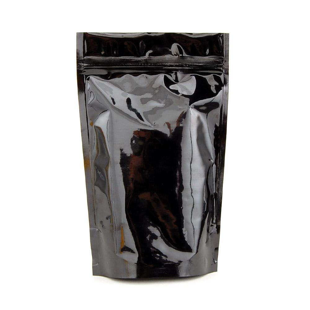 1/2 Ounce Black Mylar Bag (Pack Of 50) - SmokeZone 420