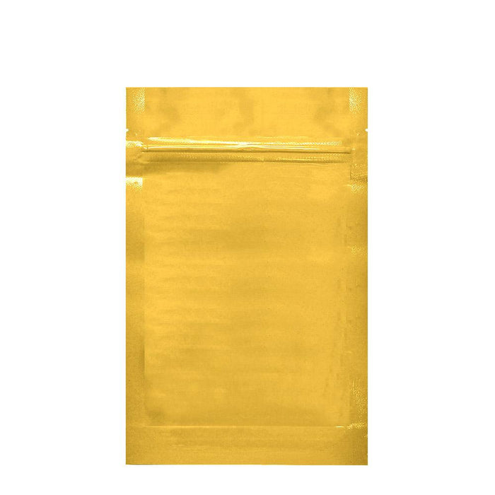 1/2 Ounce Vista Gold Mylar Bag (Pack Of 50) - SmokeZone 420