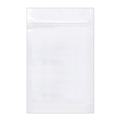 1 Ounce Vista White Mylar Bag (Pack Of 50) - SmokeZone 420