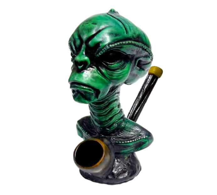 Alien Head Pipe - SmokeZone 420