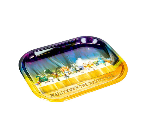 "Alice Table Rolling Tray 7""x5"" - SmokeZone 420"