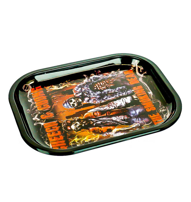 "Cheech & Chong Rolling Tray 7""x5"" - SmokeZone 420"