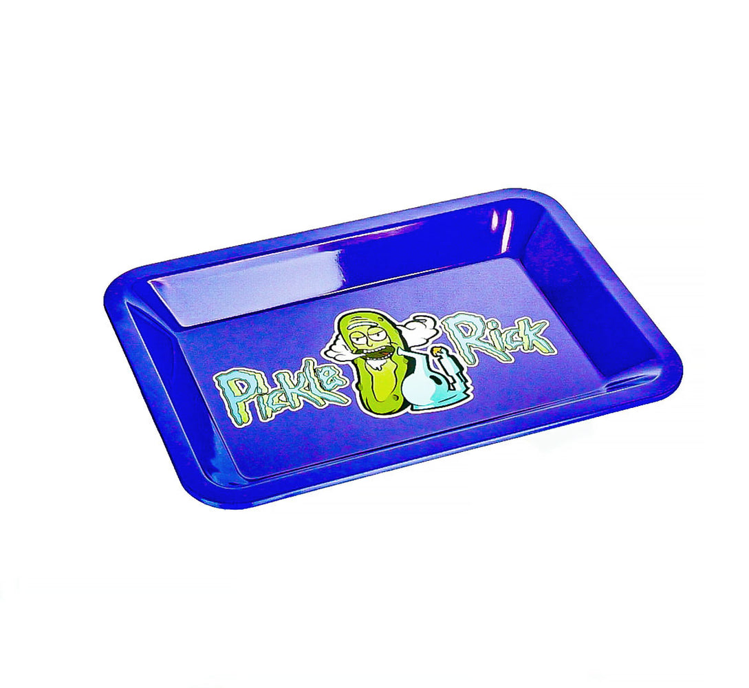 "R & M Purple Rolling Tray 7""x5"" - SmokeZone 420"