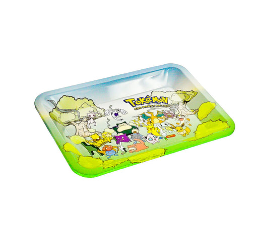 "Tokemon Rolling Tray 7""x5"" - SmokeZone 420"