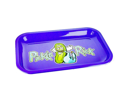 "R & M Purple Rolling Tray 11""x7"" - SmokeZone 420"