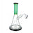 "8"" Color Tube Beaker Base Dab Rig - SmokeZone 420"